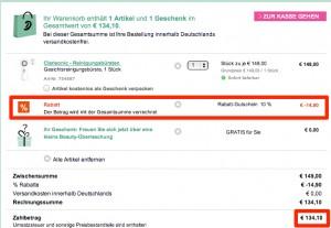 Aktuell doch nicht so günstig: 14 Euro teurer als bei Amazon!